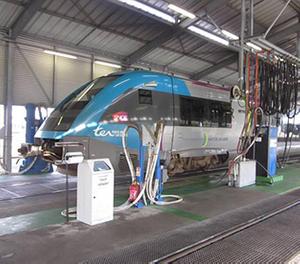 Extension du bâtiment de maintenance sur le site SNCF de Nantes Blottereau (44)