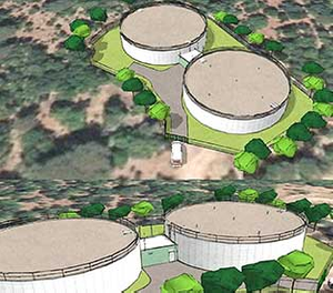 Extension du réservoir d'eau potable Belle-Isnarde