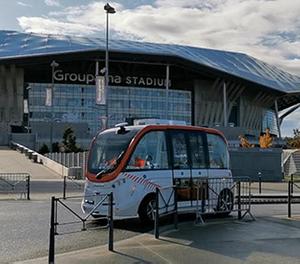 Navette autonome : Tram T3 vers le parc olympique Lyonnais