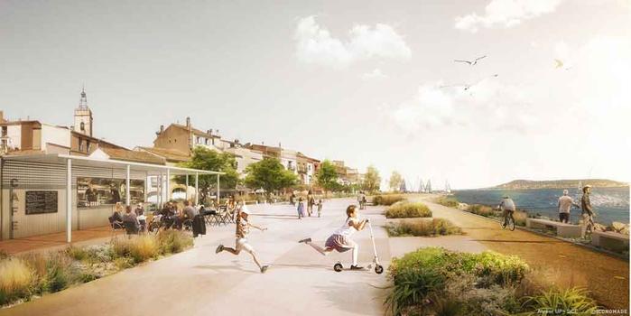 domaine espaces publics et paysagers bouzigues