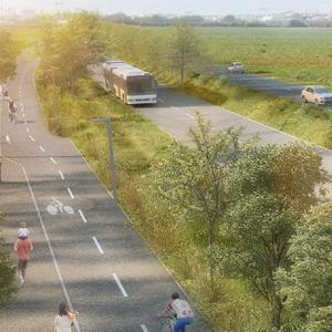 Projet : réalisation du boulevard urbain des Cottes Mailles