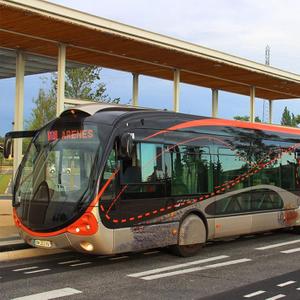 Projet : Extension sud de la ligne T1 de BHNS à Nîmes (30)