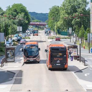 Projet : Création de la première ligne BHNS au Mans (72)