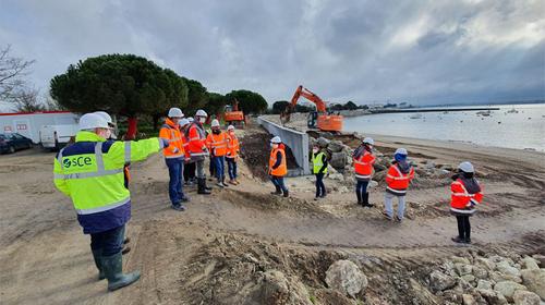 Actualité : Protection du quartier de Port Neuf à La Rochelle contre la submersion marine