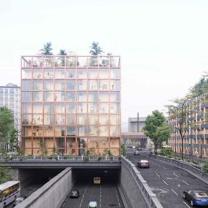 projet : aménagement Porte de Brancion