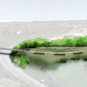 projet : franchissement de l'autoroute A20