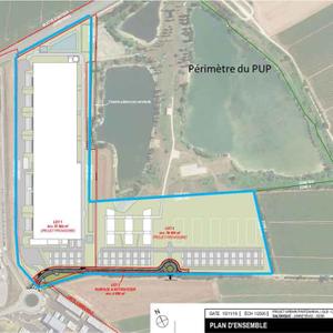 projet : implantation d'un entrepôt logistique