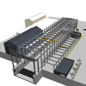 projet : conception et réalisation d'une cale sèche ouverte