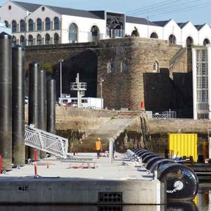 projet :  infrastructures liées à l'accueil des FREMM et autres navires