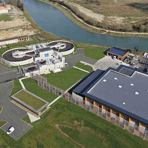 projet : station épuration de la Communauté de Communes de l'Estuaire de la Dives à Cabourg
