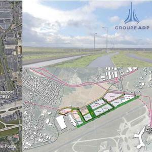 """projet : parc d'activités """"Les Avernaises"""" à Wissous et Paray-Vieille-Poste"""