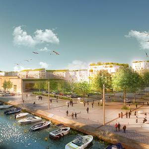 Reconstruire la ville sur des friches industrialo-portuaires sur l'ile Est de Sète