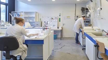 Actualité : laboratoire d'hydrobiologie