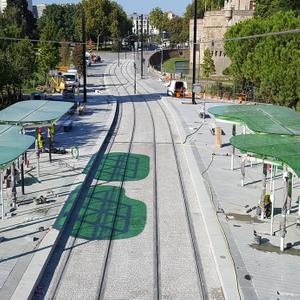Projet : Rénovation tramway ligne 1 secteur gare nord - Commerce et tronc commun des lignes 1 et 2 à Nantes (44)