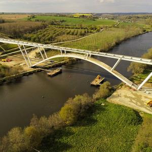 Projet : Viaduc de la Mayenne sur la déviation de Château-Gontier (53)