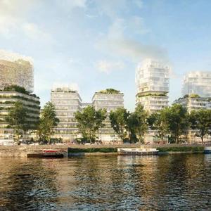 Projet : ZAC Seguin - Aménagement de l'îlot D sur les rives de Seine à Boulogne-Billancourt (92)