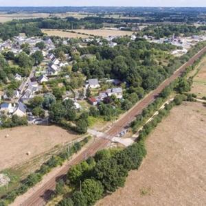 Projet : Réalisation d'une voie ferrée pour le contournement des sites industriels à Donges (44)