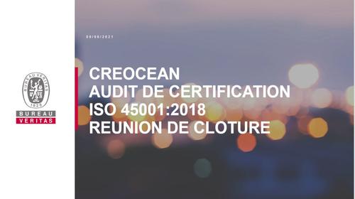 creocean actus audit ISO45001_1000x583