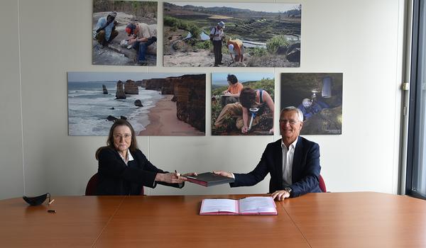 Actualité : KERAN et le BGRM ont signé un accord-cadre de partenariat scientifique et industriel