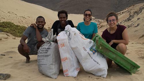 Collecte et valorisation des déchets plastiques au Cap Vert-collecte